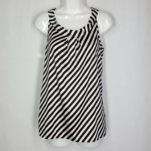 The limited blouse, size medium, striped top.